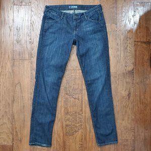 HUDSON Dark Wash Skinny Jeans 30 Stretch Low Rise